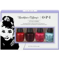 OPI Mini Kit Style Icons Breakfast At Tiffanys 4 piece set
